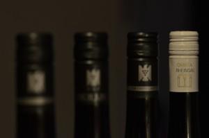 Kapsel eines Charta-Weines