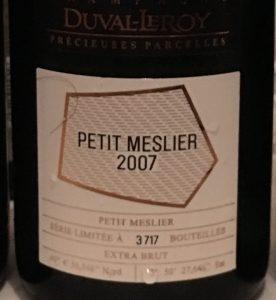 Petit Meslier Duval-Leroy