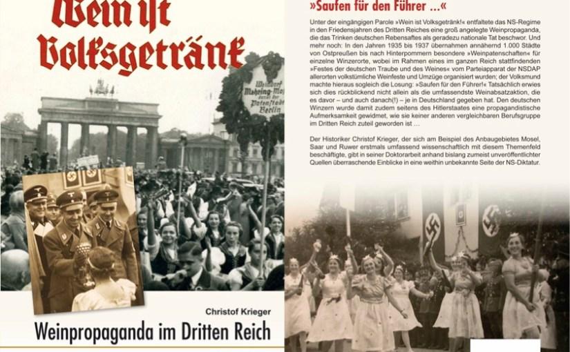 """Manna für die Massen – """"Weinpropaganda im Dritten Reich"""""""