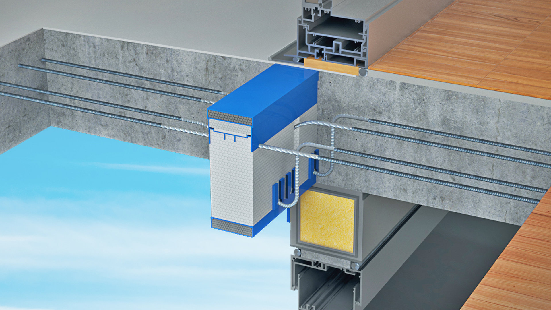 Structural Thermal Break Balcony Applications  Schck