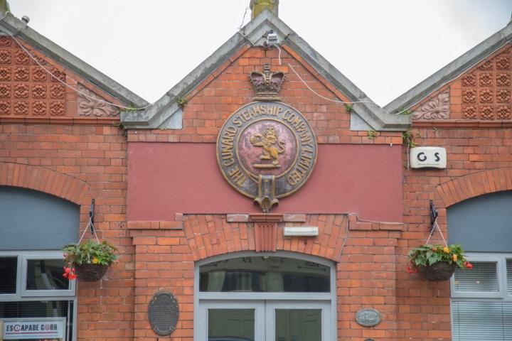 Gebäude der Cunard Line in Cobh