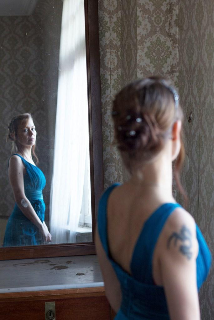 Blick in den Spiegel - Roland Stich