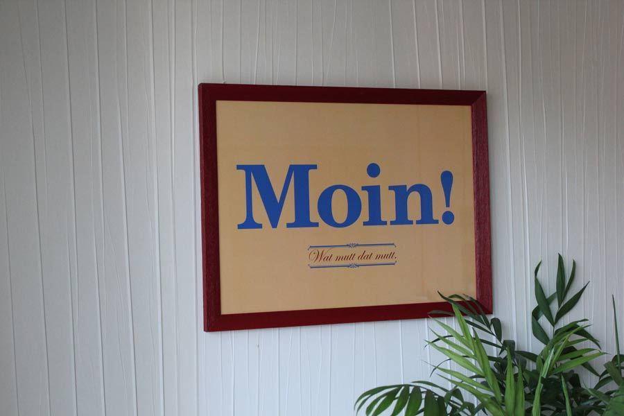 Poster Moin Wat mutt dat mutt  Schne Dinge Shop