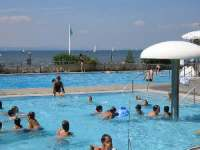 Strandbad in Langenargen, Freibad, Kinderbad, Bodensee