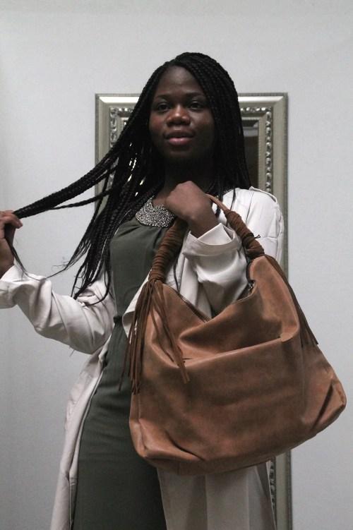 Braune Tasche von Fritzi aus Preußen Shopper in braun
