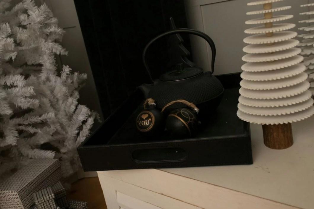 Weihnachtstrend Black Christmas Deko