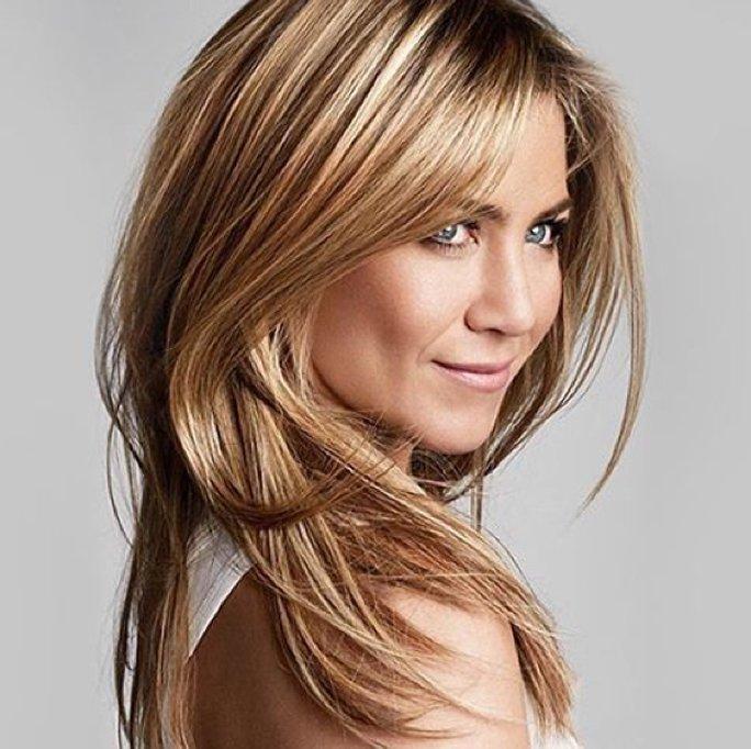 Frisuren Für Feines Haar Helle Strähnchen