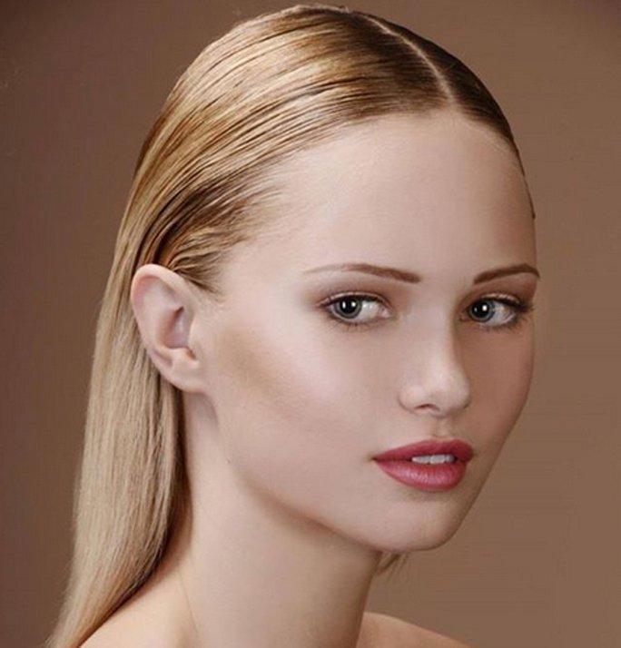 Frisuren Für Feines Haar Sleek Look