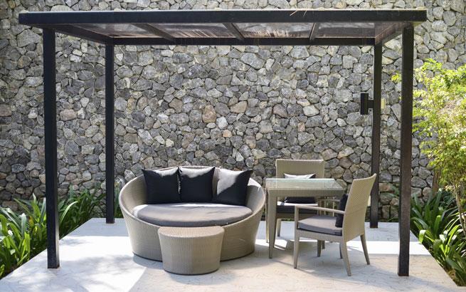Terrasse gestalten  Bodenbelag Vier Varianten fr