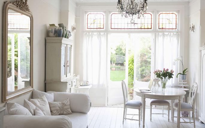 Wohnung einrichten im British Style Cottage Kolonial