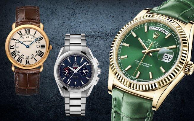 Schweizer Uhrenmarken Rolex Omega Cartier und Co sind Swiss made
