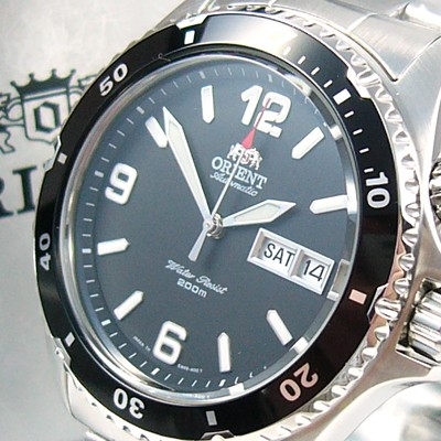 ORIENT 5 Deep Automatik Taucheruhr professional Diver CEM65001B UHREN Automatik Herren