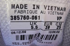 Europese schoenmaten EU