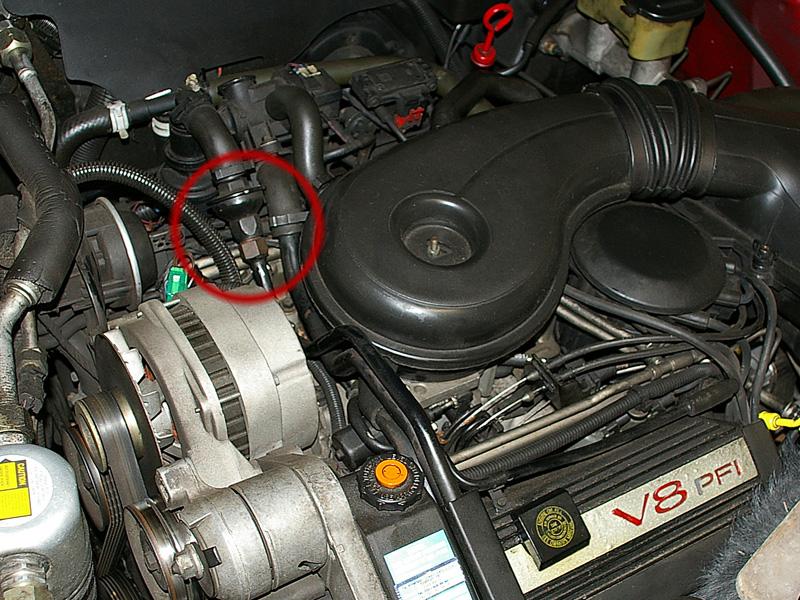 Engine Diagram 1991 Cadillac Deville Fuel Filter Location Cadillac