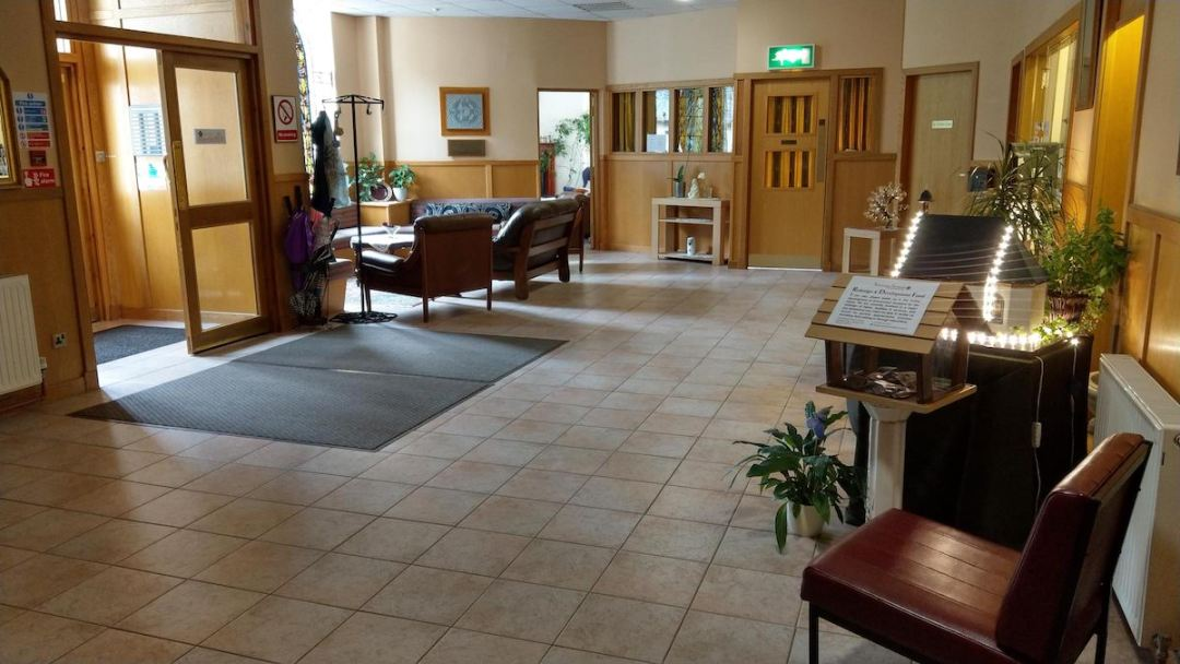 Schoenstatt Scotland Recpetion Area