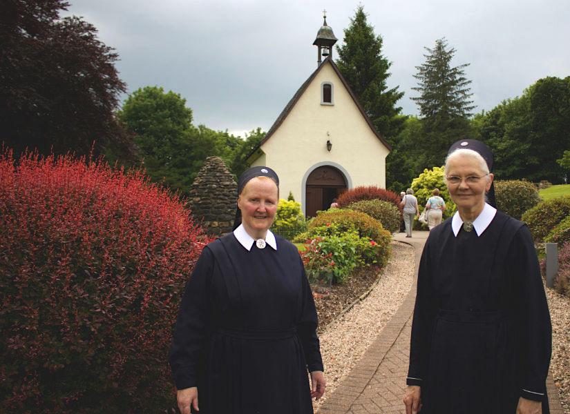 Sisters outside Schoenstatt Scotland Shrine