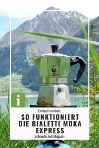 Gebrauchsanleitung für die Espressokanne Bialetti Moka Express