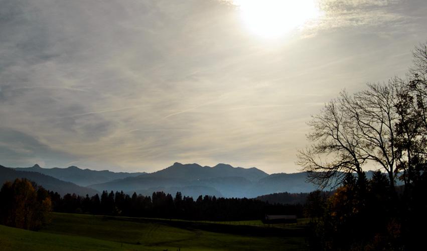 Bregenzerwald in Vorarlberg