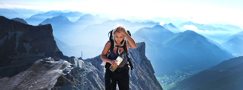 Aufstieg zur Zugspitze