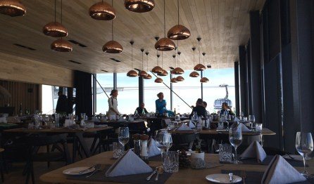 Blick ins Restaurant IceQ