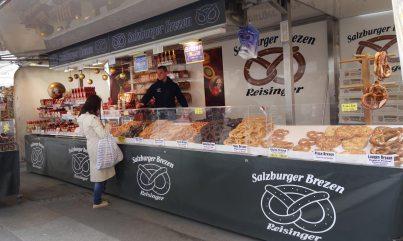 Marktstand in Salzburg