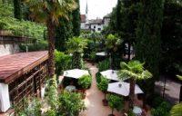 Gartenblick Ottmangut Meran - Wasmannzimmer