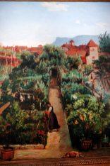 Wasmann-Gemälde im Ottmanngut Meran