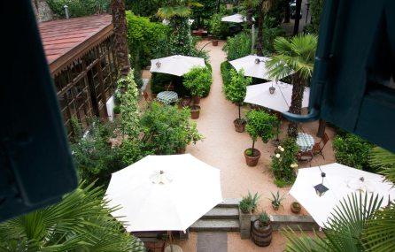Garten im Ottmanngut Meran