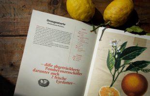 Rezept Orangentorte - Tiroler Kochbuch