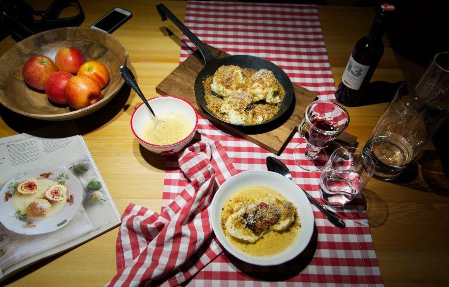 Abendessen nach Tiroler Art