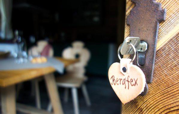Schlüssel zum Chalet Bergfex