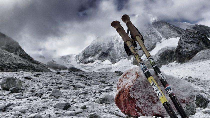 Unkomplizierte Überquerung des Glacier de Cheilon am Fuße der genialen Cabane des Dix (Foto: st-bergweh.de)