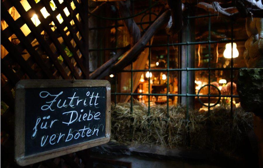 Eingang Restaurant Onkel Taa - Bad Egart