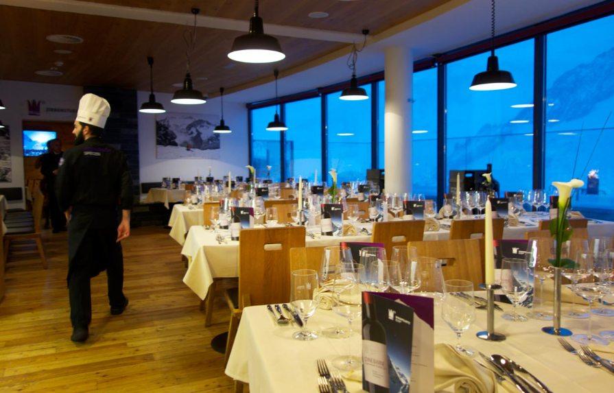 Restaurant Schaufelspitz vor der Veranstaltung
