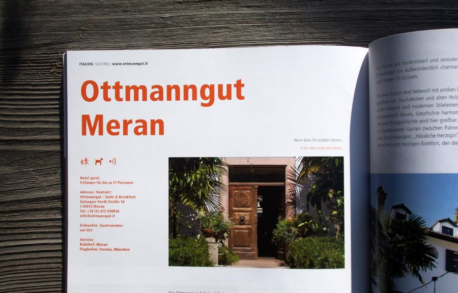 Ottmanngut Meran Urlaubsarchitektur 2016