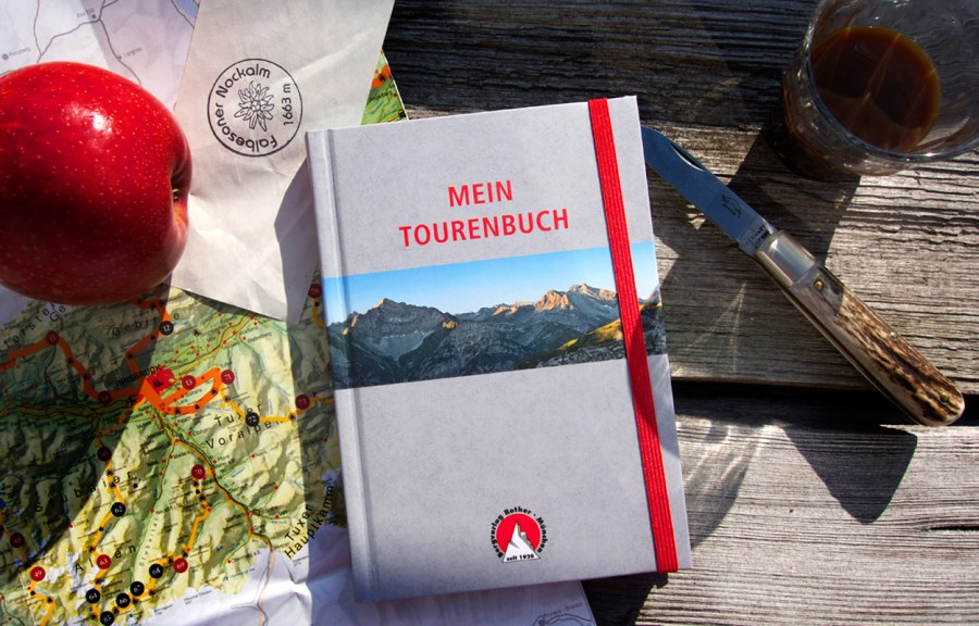 Mein Tourenbuch - Bergverlag Rother