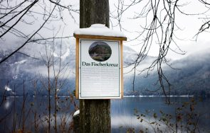 Tafel Fischerkreuz Altaussee