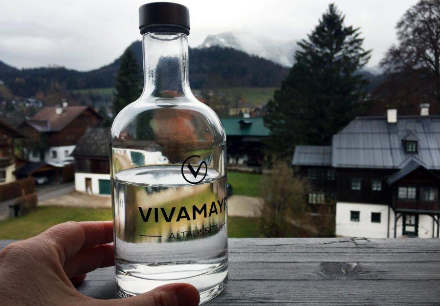 Glaubersalzflasche mit Quelle
