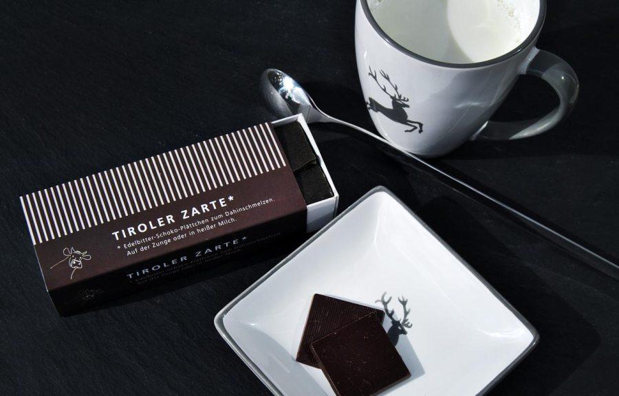Heiße Schokolade Tiroler Edle