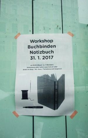 Stationary Store Sous-Bois Wien - Workshop