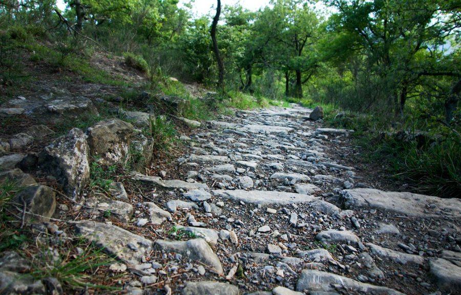 Alter Steinpfad Ligurien