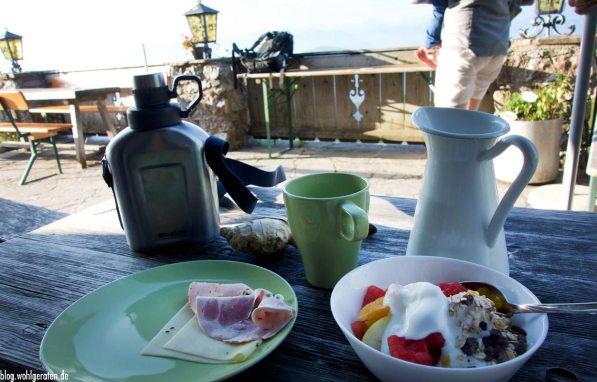 Frühstück Stie-Alm