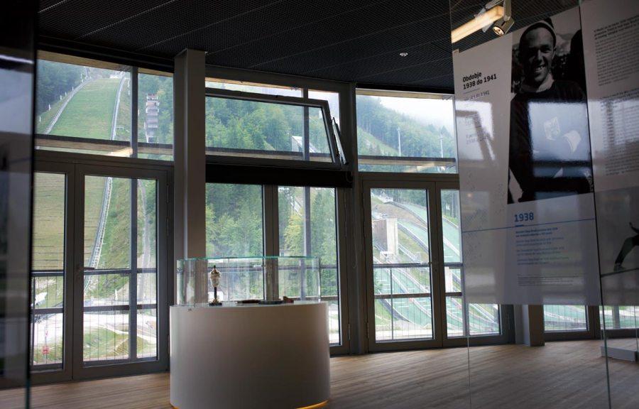 Ausstellung - Nordic Ski Centre Planica