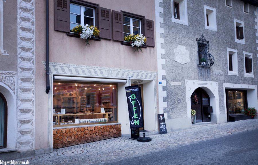 Shopping in Pontresina – Laudenbacher