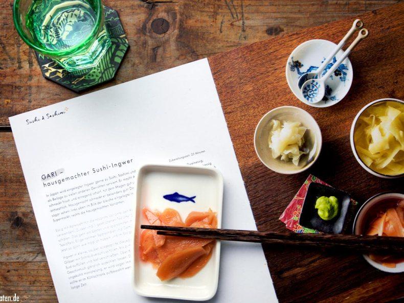 Gari Rezept in Meine Japanische Küche - Stevan Paul – Hölker Verlag