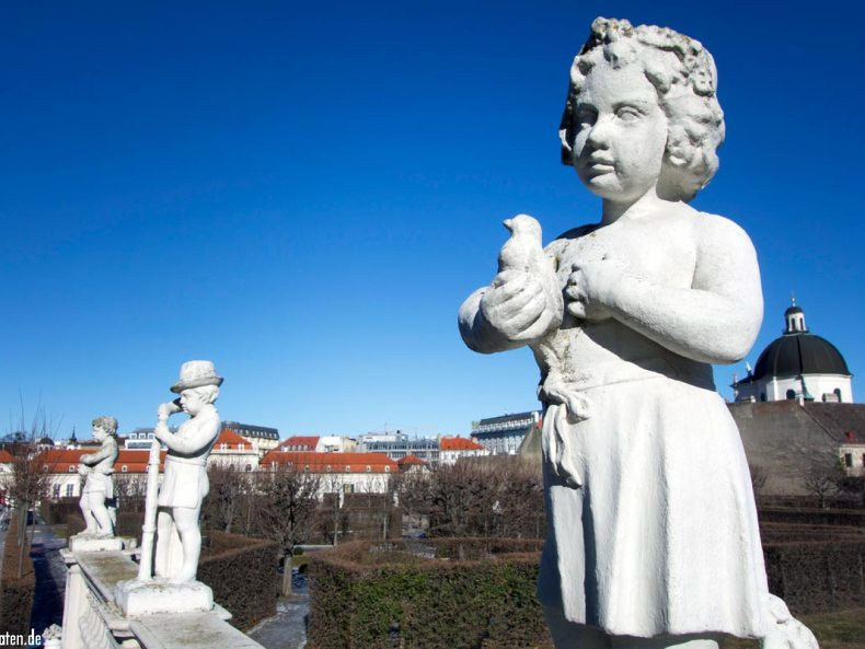 Wien Parkanlage Belvedere
