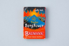 Zündholzschachtel Tiroler Bergfeuer