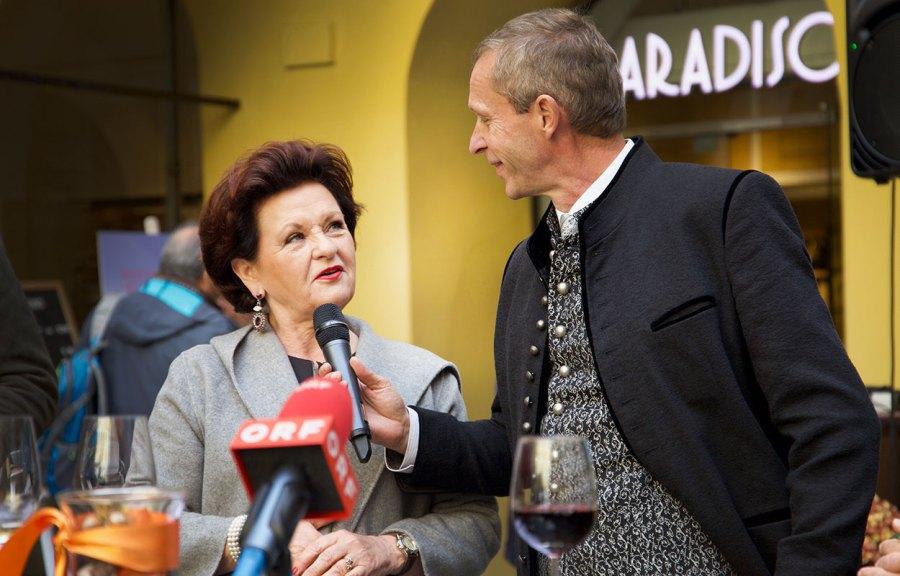 Waltraud Hutter – Eröffnung Grazer Trüffelmarkt