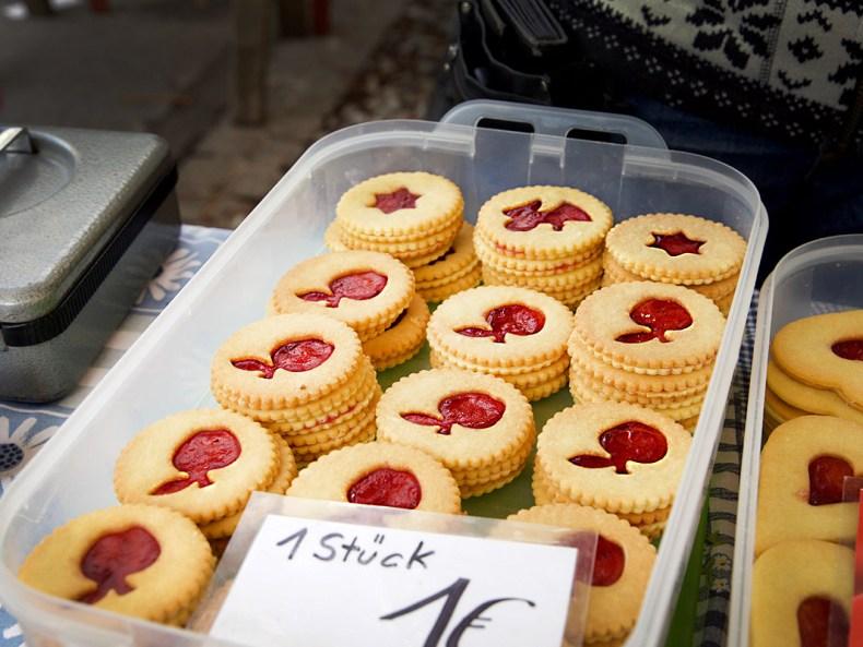 Kekse Linierungen – Bauernmarkt in Graz