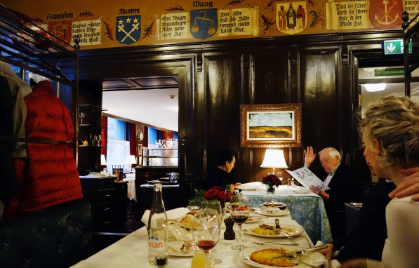 Kronenhalle Zürich - Brasserie